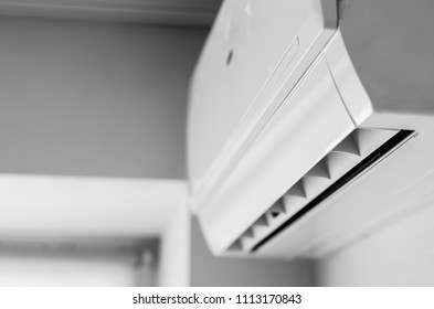 air conditioning on a light background
