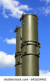 Air defense launch rocket system with barrels