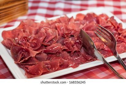 Air Dried beef sliced