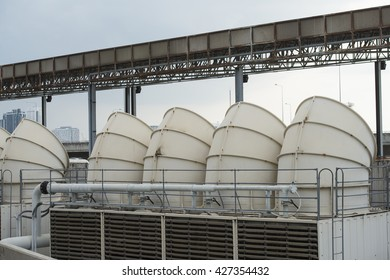 Air duct and ventilation system of factory.