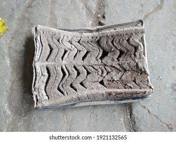 air filter contaminated with mud