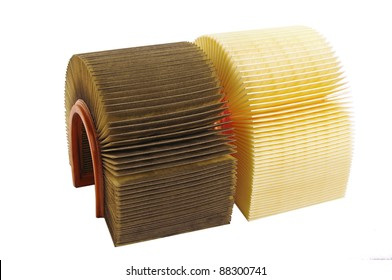 Air filters. Used and new