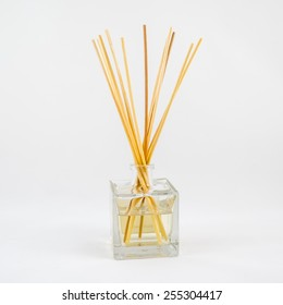 Air freshener sticks isolated on white background