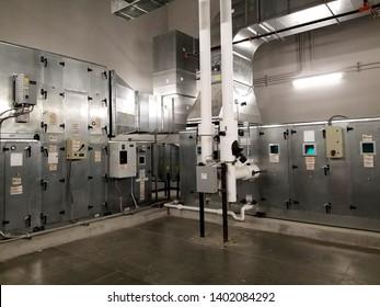 Air Handling Unit in Mechanical Room