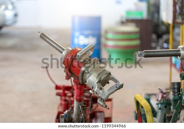 Air Impact Wrenchair Gun Bolts Auto Stock Photo (Edit Now