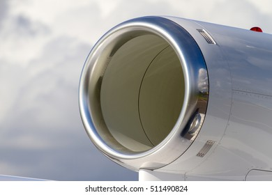 Air intake of business jet