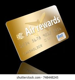 Air miles credit card stock images royalty free images vectors air miles air rewards credit card colourmoves Image collections