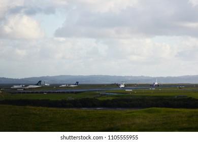 Air New Zealand, ATR72-600, Taxeing Auckland International Airport, 26 May 2018