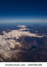 Air Plane view of Canigou Peak and Tretzevents Peak, Prats de Mollo la Preste National Nature Reserve, Catalunya, near Barcelona, Spain - Shutterstock ID 1689386188