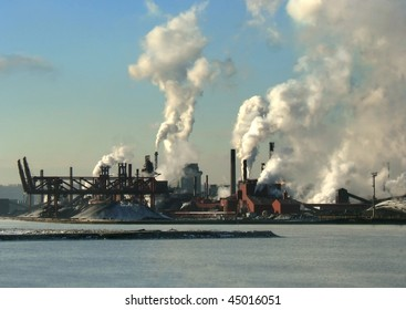 air pollution by industrial