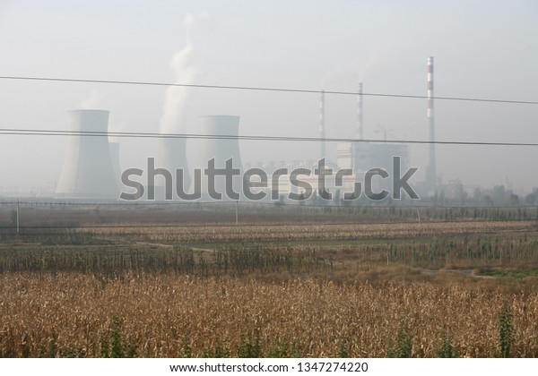 Air pollution creates haze around nuclear power plants in China