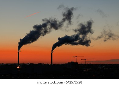 Air Pollution from industrial