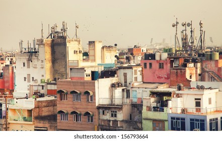 Air pollution in New Delhi, india, Asia