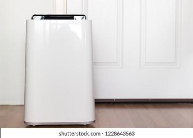 Air purifier machine in a house