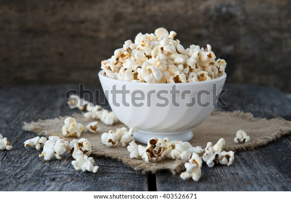 Air salty popcorn