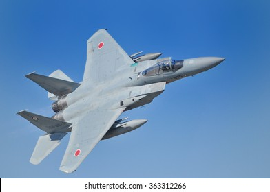 Of the Air Self-Defense Force F-15 Eagle fighter This is the air show, which was held in Hyakurikichi of Japan. Shooting date is October 25, 2015