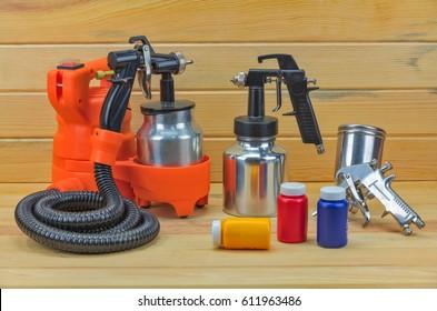 Air spray color , Spray Gun and airbrush set