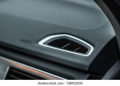 Air vent in a car