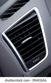 air vent in luxury car