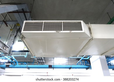 Air vent for air ventilate in underground of the building.