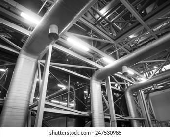 Air Ventilating tube in building