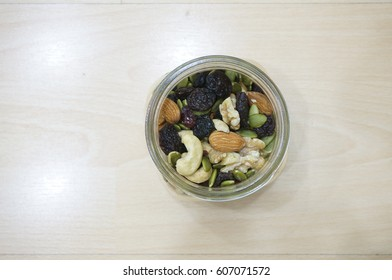 Air View of Nuts and Berries