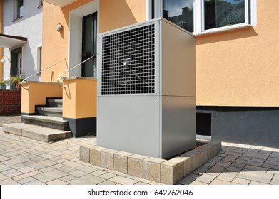 Air-Air Heat Pump for Heating and hot Water in Front of a Low-Energy House