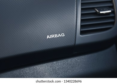 Airbag in the car, saving life and health