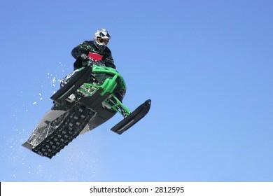 airborne snowmobiler