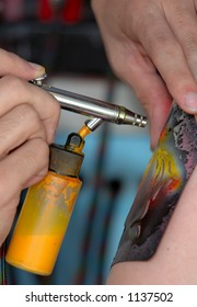 Airbrush Tatto
