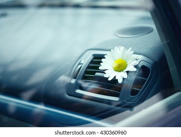 air-conditioning in the car