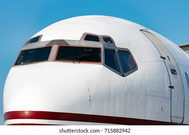 Aircraft Nose Closeup