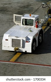 Aircraft Tug, Diesel Powered Tow Truck
