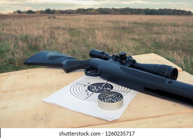 airgun and pellets