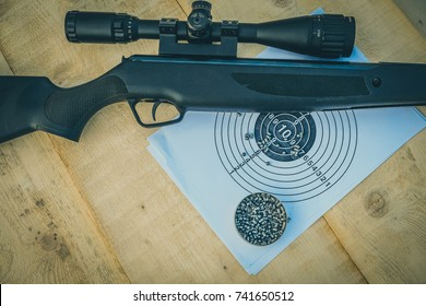 airgun and pellets