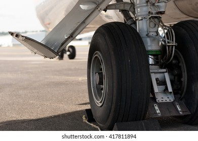 Airliner Main Landing Gear Close-Up