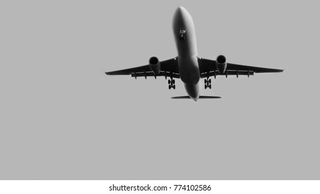 Airplane as background / An airplane or aeroplane is a powered, fixed-wing aircraft that is propelled forward by thrust from a jet engine or propeller.