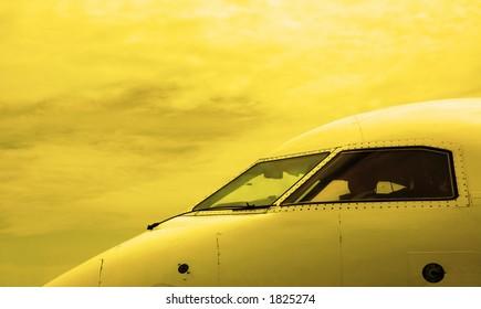 airplane cabin