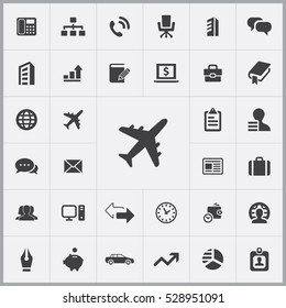 airplane icon. company icons universal set for web and mobile