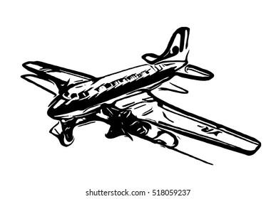 Airplane - illustration