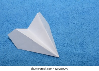 Airplane from paper origami