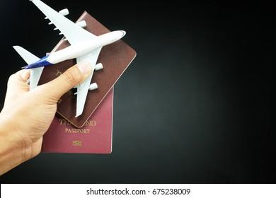 airplane passport flight travel traveller fly travelling citizenship air concept