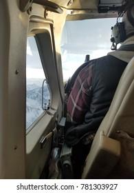 Airplane pilot in Alaska