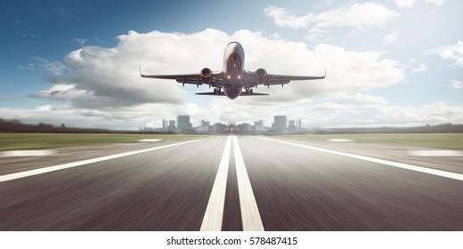 Airplane starts