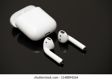 AirPods Wireless Headphones by Apple with iPhone