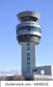Airport: air traffic control tower.