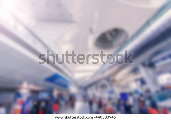 airport blurred background