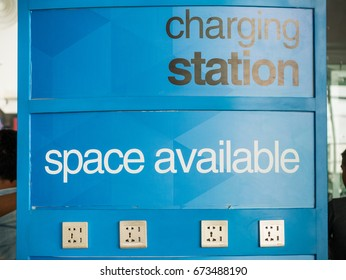 Airport Charging Station Available