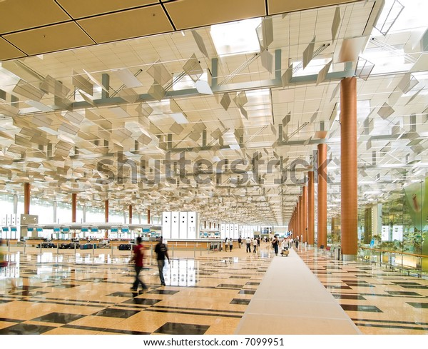 Airport, Departure Hall