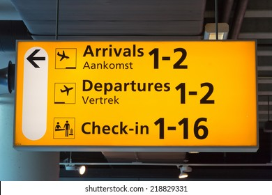 Airport Signs - Rice Signs